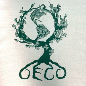 Eco T-shirt with Earth tree and John Muir quote
